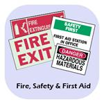Fire Safety & First Aid Signs