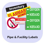 Pipe and Facility Labels