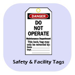 Safety & Facility Tags