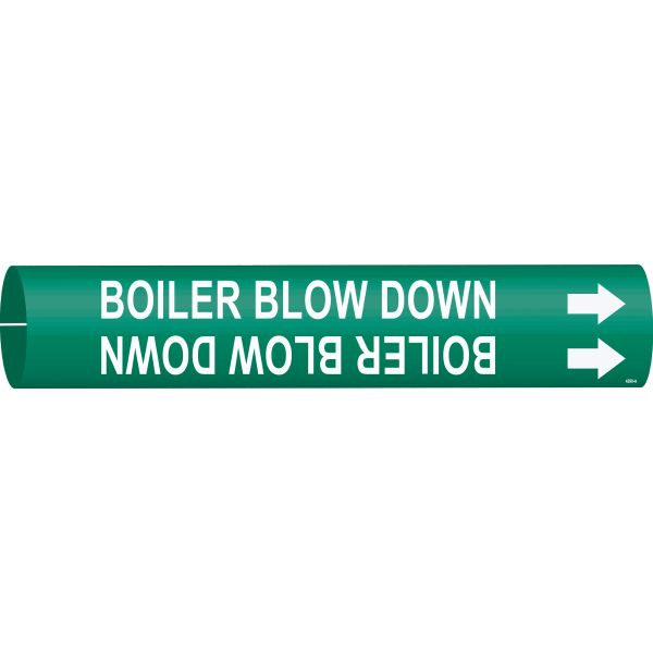 Brady 4298-D   Pipe Markers