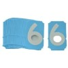 Brady 6004-6   x  '6' Series Number - Letter Card -