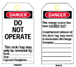 Economy Polyester Lockout Tags