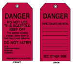 Scaffolding Tags