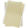 Brady DAT-96-652-10 0.75 inches  x 0.25 inches Amber B-652 Polyimide Dot Matrix Printable - 10000/Package