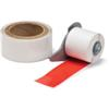 Brady M71-2000-483-RD-KT 2 inches  x 50 Feet White B-483 Thermal Transfer Labels - 1/Package  - Agressive Adhesive