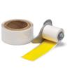 Brady M71-2000-483-YL-KT 2 inches  x 50 Feet White B-483 Thermal Transfer Labels - 1/Package  - Agressive Adhesive