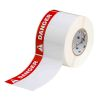 Brady THTEL-25-483-.5-DA 4 inches  x 6 inches White B-483 Thermal Transfer Labels - 500/Roll  - Ultra Aggressive