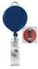 BRADY PEOPLE 2124-3032 Blue Billboard Badge Reel