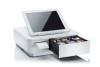 Star 39650010 White mPOP Cash Drawer and Receipt printer
