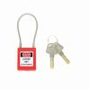 TruForce CSLTF  Red  Cable Safety Padlock