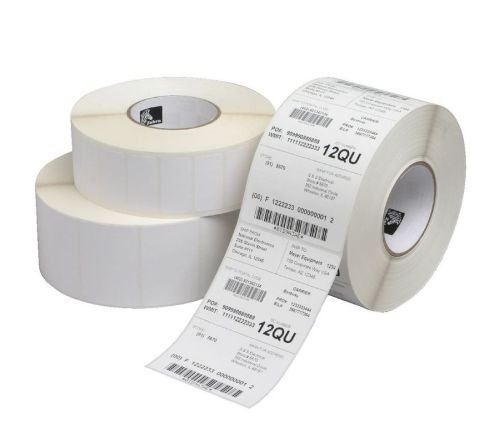 ZEBRA 10023184 4 inches  x 6 inches Silver Z-Xtreme 4000T Thermal Transfer Labels - Each