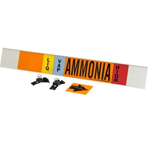 Brady 145943  AMMONIA Signs Pipe Markers