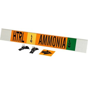 Brady 145944  AMMONIA Signs Pipe Markers