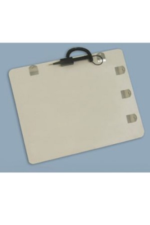 BRADY PEOPLE 05401 White TEMPboard