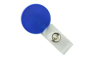 BRADY PEOPLE 2105-4002 Metallic Blue Round Logo Clip